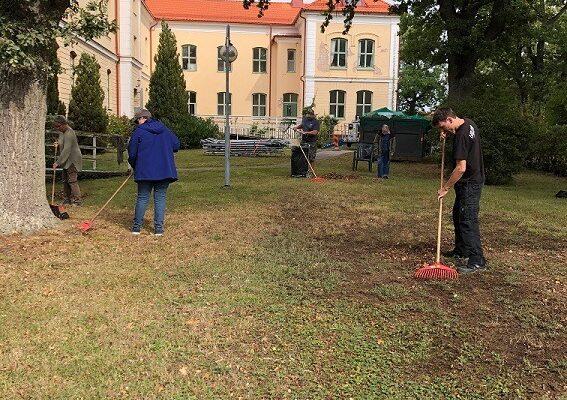 Bild på daglig verksamhets aktivitet vid Ekbacka