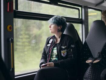 'Gratis busskort även i sommar' bild