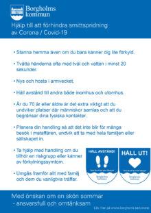 Affisch för utskrift - rekommendationer