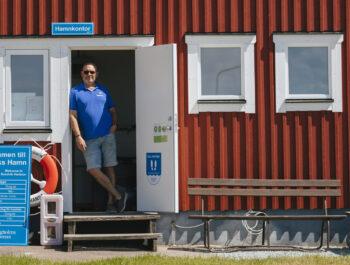 'Högt tryck i våra hamnar i sommar' bild