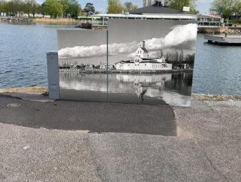 'Bilder som visar historiska Borgholm' bild